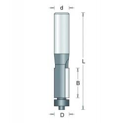 Kantfrees 103-8 12,7mm Recht Hm+L As 8mm