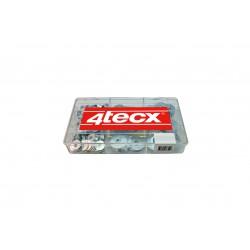 4tecx Assortiment sluitringen, 455-delig, verzinkt