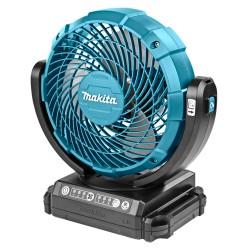 Makita 14,4 / 18 V Ventilator DCF102Z met zwenkfunctie zonder accu