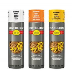 Rustoleum 2358 Spray Markeer Rood/Oranje