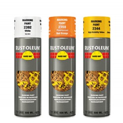 Rustoleum 2392 Spray Markeer Wit