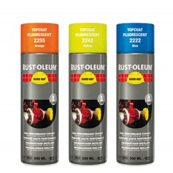 Rustoleum 2255 Spray Oranje Fluoresc
