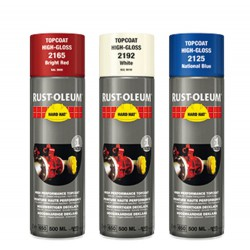 Rustoleum 2165 Spray Helderrood Ral3000