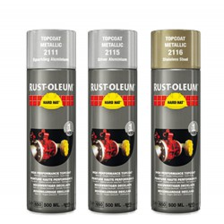 Rustoleum 2116 Spray Metallic RVS