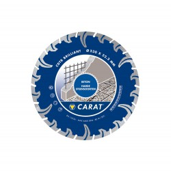 CARAT DIAM ZAAG CDTB-BR 115X22 TURBO DRY