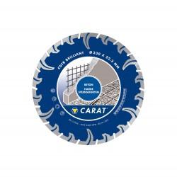 CARAT DIAM ZAAG CDTB-BR 125X22 TURBO DRY