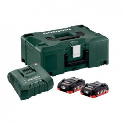 Metabo Accuset 18Vhd 2X4A+Ascultra Mloc