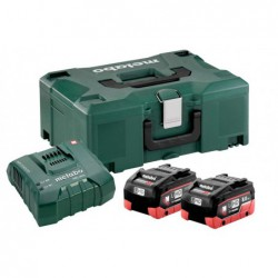 Metabo Accuset 18Vhd 2X8A+Ascultra Mloc