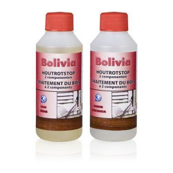 Bolivia Houtrotstop Set 500ml