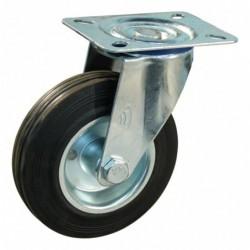 Zwenkwiel 125 Pl85X105 Rubb Stl Rl 100Kg