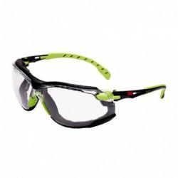 3M Vh Bril Solus Groen/Zwart Blank Set