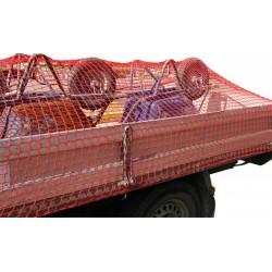 AFDEKNET 150X200CM MAAS 40MM PP ROOD