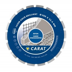 CARAT DIAMANTZAAG CNCB-BR 300X30 BETON NAT