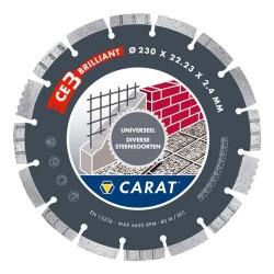 CARAT DIAMANTZAAG CED-BR 125X22 UNIV DRY