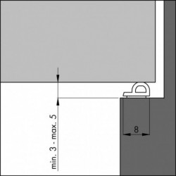 Ellenflex-P Tochtband 7
