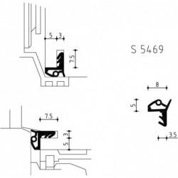 Hs-Lashoek S5469 3X3M Zwart