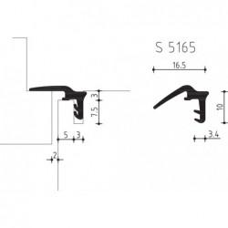 Hs-Dichting S5165 Zwart - 150 Meter