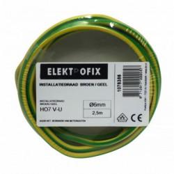 Vd-Draad 6Mm2 Groen/Geel 2