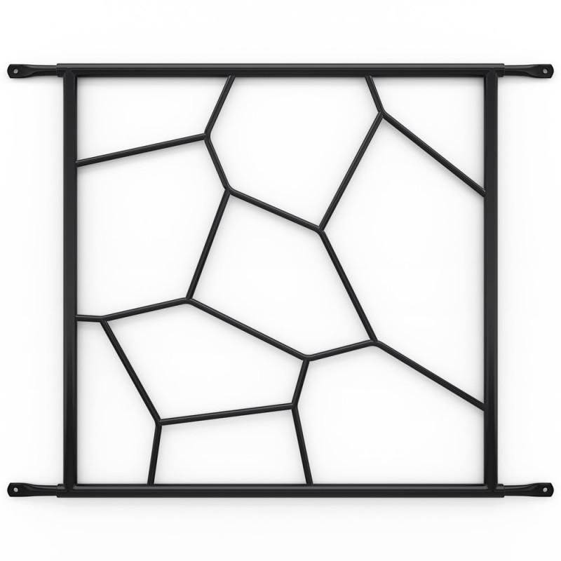 Secubar Siertralie Deco1 Zwart 540-525mm