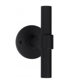 Formani ONE knop op rozet PBT15V/50 mat zwart