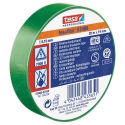 Isolatieband 53988 19mm x 20M Groen