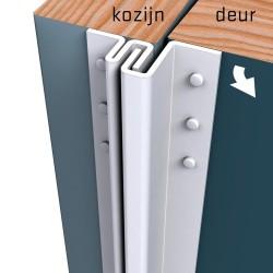 Secustrip Basic 211,5cm Budr 1* Wit