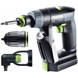 Festool Accuschroefboormachine CXS Li 2,6-Set