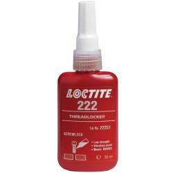 Loctite draadborgmiddel 222 laag 50ml