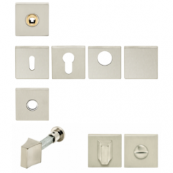 Artitec Quattro WC-knop, 8mm vkt stift 73040