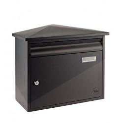 Yale brievenbus Texas zwart staal
