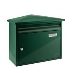 Yale brievenbus Texas groen staal