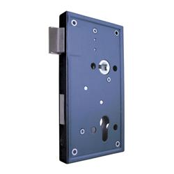 Mauer 3370 PZW 60 mm Ls/Rs oplegslot-zwart gelakt-compleet