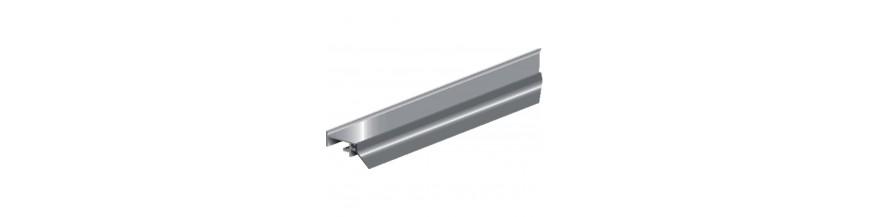 Tochtprofiel opbouw aluminium