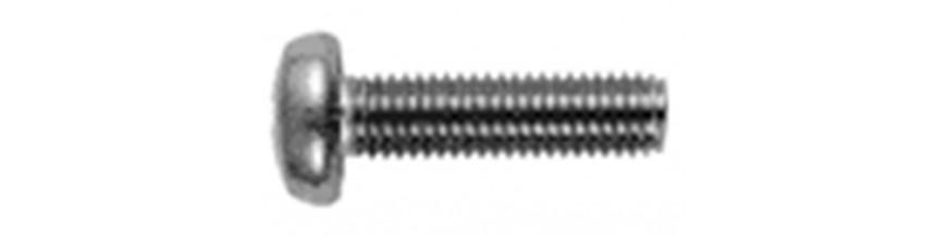 Metaalschroef bol phillips DIN 7985H RVS A4