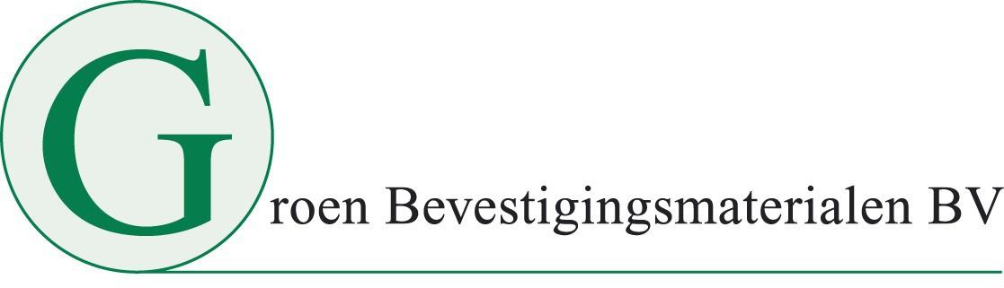 Groen bevestigingsmaterialen
